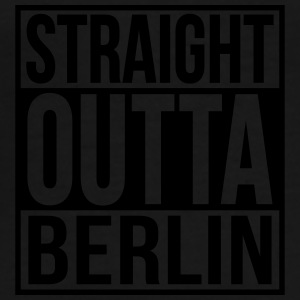 Straight Outta Berlin Hip Hop Rap Statement  - Männer Premium T-Shirt