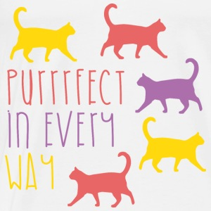 AD Purrfect in every way Baby Langarmshirts - Männer Premium T-Shirt