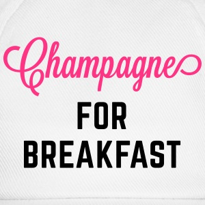 Champagne For Breakfast Funny Quote Hoodies & Sweatshirts - Baseball Cap