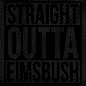 Straight Outta Eimsbush Rap Hip Hop Statement Hood T-Shirts - Kinder Rucksack