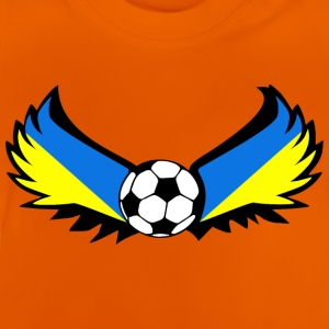 Ukraine de football - T-shirt Bébé