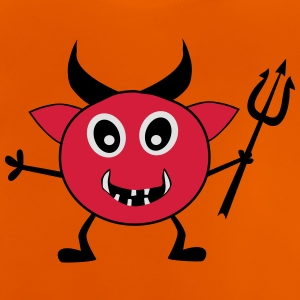 Devil with Trident - Baby T-Shirt