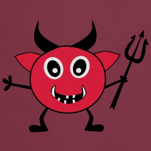 Devil with Trident - Cooking Apron