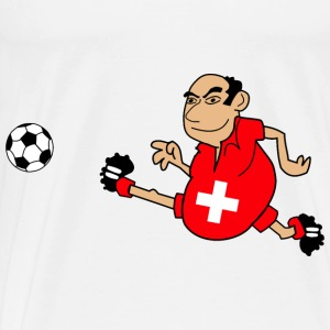 Swiss footballers - Men's Premium T-Shirt