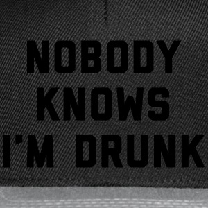 I'm Drunk Funny Quote T-Shirts - Snapback Cap
