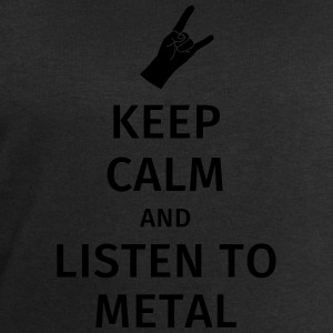 Keep Calm and Listen to Metal T-Shirts - Men's Sweatshirt by Stanley & Stella