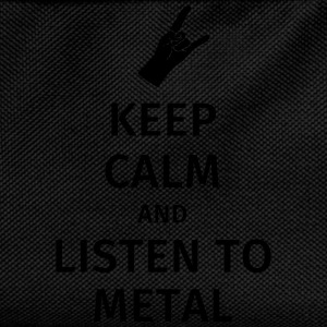Keep Calm and Listen to Metal T-Shirts - Kids' Backpack