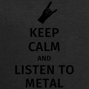Keep Calm and Listen to Metal Krus & tilbehør - Herresweatshirt fra Stanley og Stella