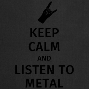 Keep Calm and Listen to Metal Tazze & Accessori - Grembiule da cucina