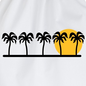 palm trees T-Shirts - Drawstring Bag