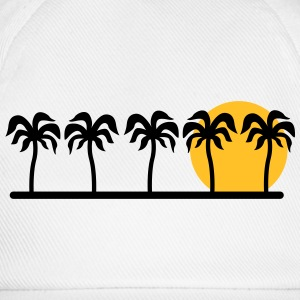 palm trees T-Shirts - Baseball Cap