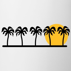 palm trees T-Shirts - Mug