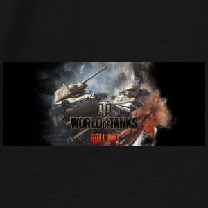World of Tanks Battlefield Color Mug - Men's Premium T-Shirt