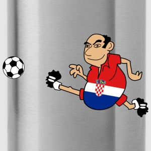 Croatian footballer - Water Bottle