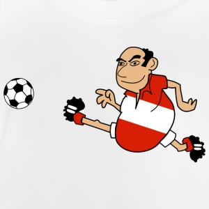 Autriche de football - T-shirt Bébé