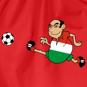 Hungarian footballer - Drawstring Bag