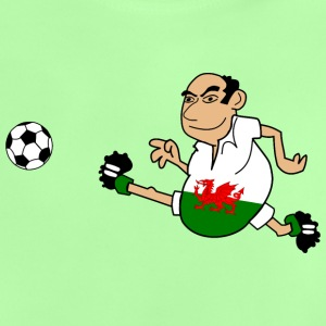 Football man Wales - Baby T-Shirt