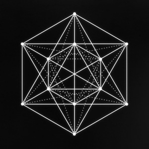 Sacred geometry / Minimal Hipster Line Art Shirts - Baby T-Shirt