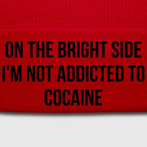 On the bright side i'm not addicted to cocaine T-Shirts - Winter Hat