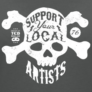 Support Your Local Artists - 76 - T-shirt col V Femme