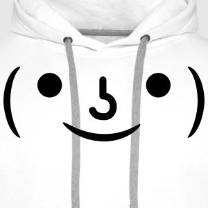 smiley Tee shirts - Sweat-shirt à capuche Premium pour hommes