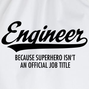 Engineer - Superhero Camisetas - Mochila saco
