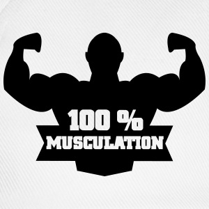 100 % musculation Tee shirts - Casquette classique