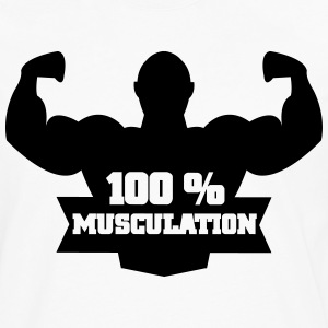 100 % musculation Tee shirts - T-shirt manches longues Premium Homme
