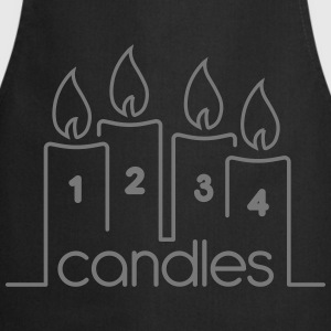 Four Candles - Cooking Apron