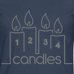 Four Candles - Men's Premium Longsleeve Shirt