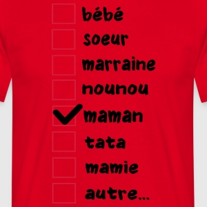case maman Tabliers - T-shirt Homme
