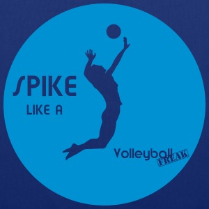 Spike like A VolleyballFREAK Man-M - Stoffbeutel