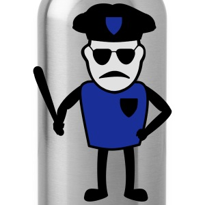 COP with baton - Water Bottle