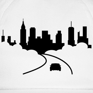 city T-Shirts - Baseball Cap