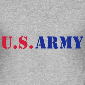 US army 05 Sweat-shirts - Tee shirt près du corps Homme