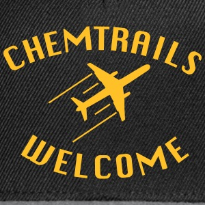 Chemtrails Welcome T-Shirts - Snapback Cap