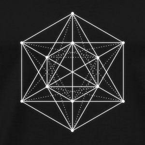 Sacred geometry / Minimal Hipster Line Art Peluches - T-shirt Premium Homme