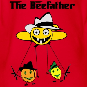 Beefather - Økologisk kortermet baby-body