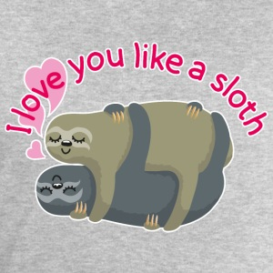 I love you like a sloth T-Shirts - Männer Sweatshirt von Stanley & Stella