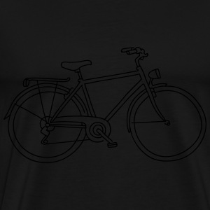 Bicycle Bags & Backpacks - Men's Premium T-Shirt