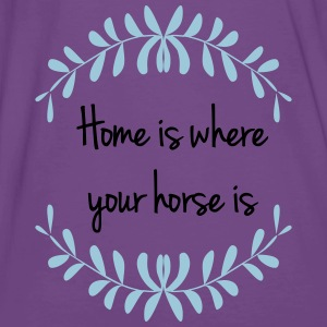 home_is_where_your_horse_is Pullover & Hoodies - Männer Premium T-Shirt