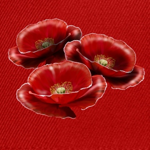 poppies T-shirts - Snapback Cap
