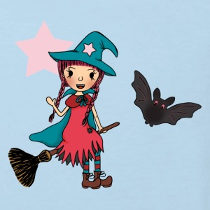 Witch Penelope in the Air Baby Bodys - Kinder Bio-T-Shirt