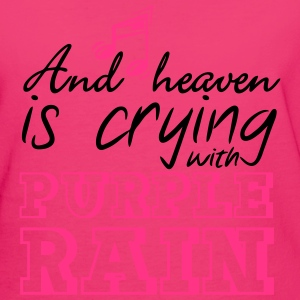 Heaven is crying - Prince Bags & Backpacks - Women's Organic T-shirt
