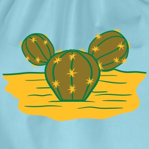 desert hot ground sand design small beautiful gree T-Shirts - Drawstring Bag