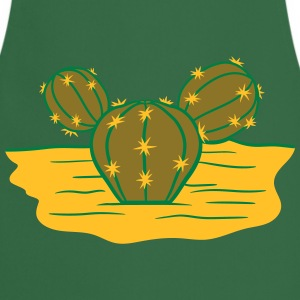 desert hot ground sand design small beautiful gree T-Shirts - Cooking Apron