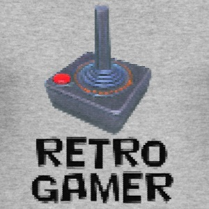 Retro Gamer Hoodies & Sweatshirts - Men's Slim Fit T-Shirt