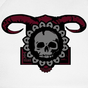 dirty skull T-Shirts - Baseballkappe