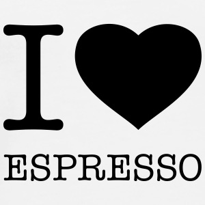 I LOVE ESPRESSO - Men's Premium T-Shirt