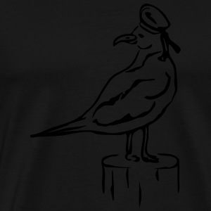 JOHNNY THE SAILOR SEAGULL  Sonstige - Männer Premium T-Shirt